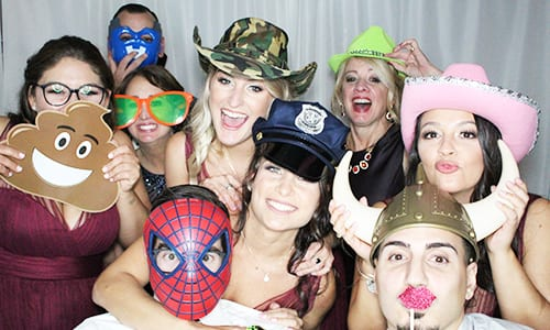 Photo booth with PROPS1