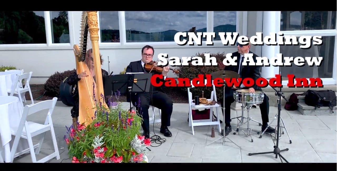 Srah & Andrews Wedding Candlewood Inn